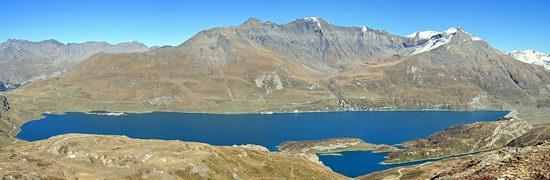 La diga del Montcenis vista dalle alture del caposaldo Pattacroce f83f8360051